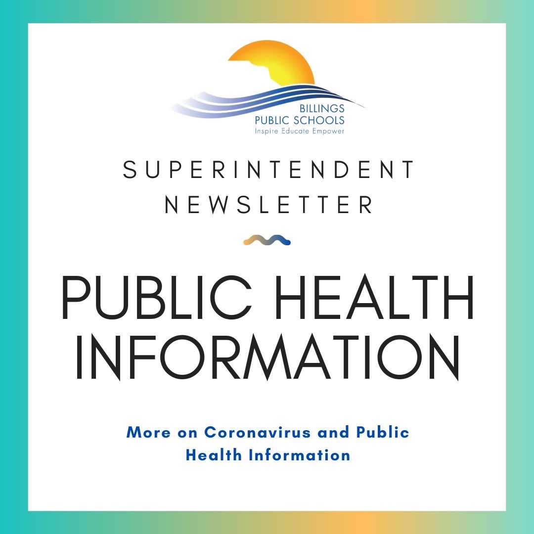 Billings Public Schools Superintendent Newsletter