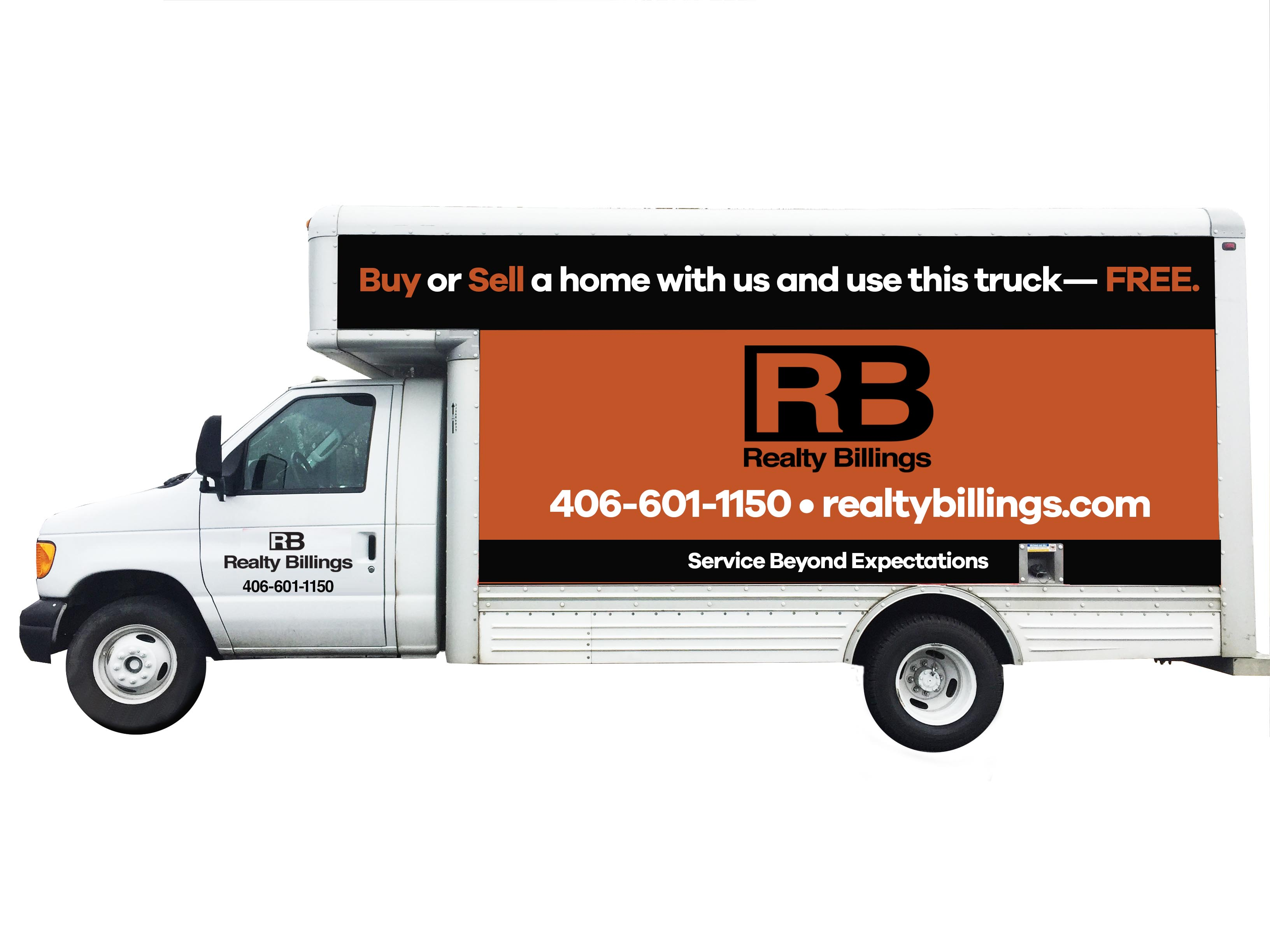 Realty Billings Moving Truck