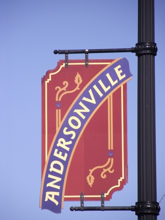 Andersonville Sign