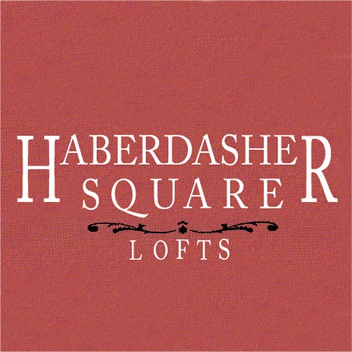 Haberdasher Square Lofts Sign