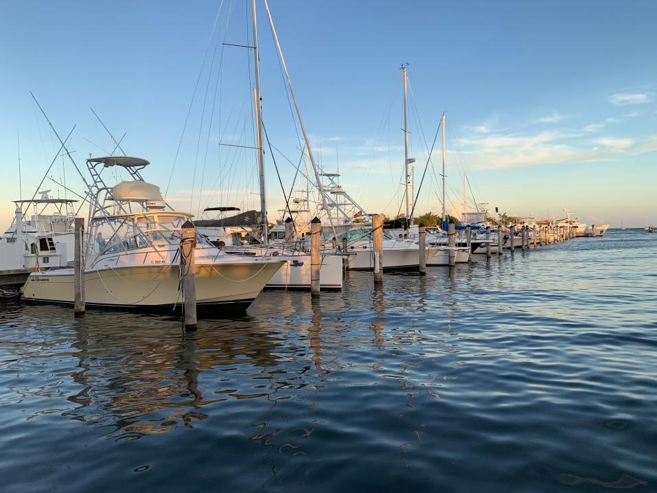 Enjoying Jensen's Marina on Captiva Island