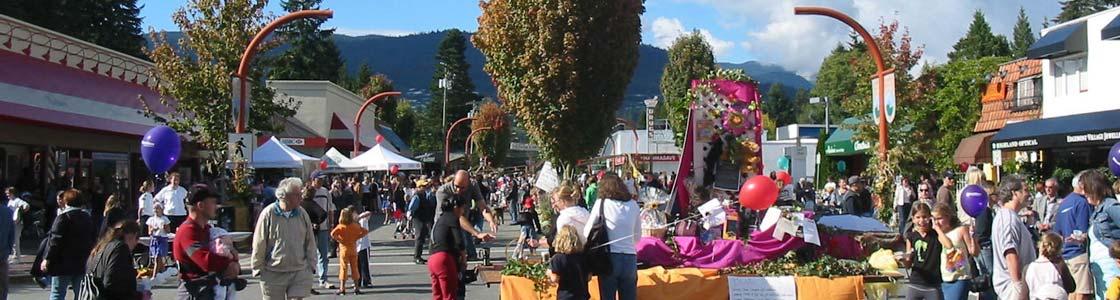 Edgemont Village in North Vancouver