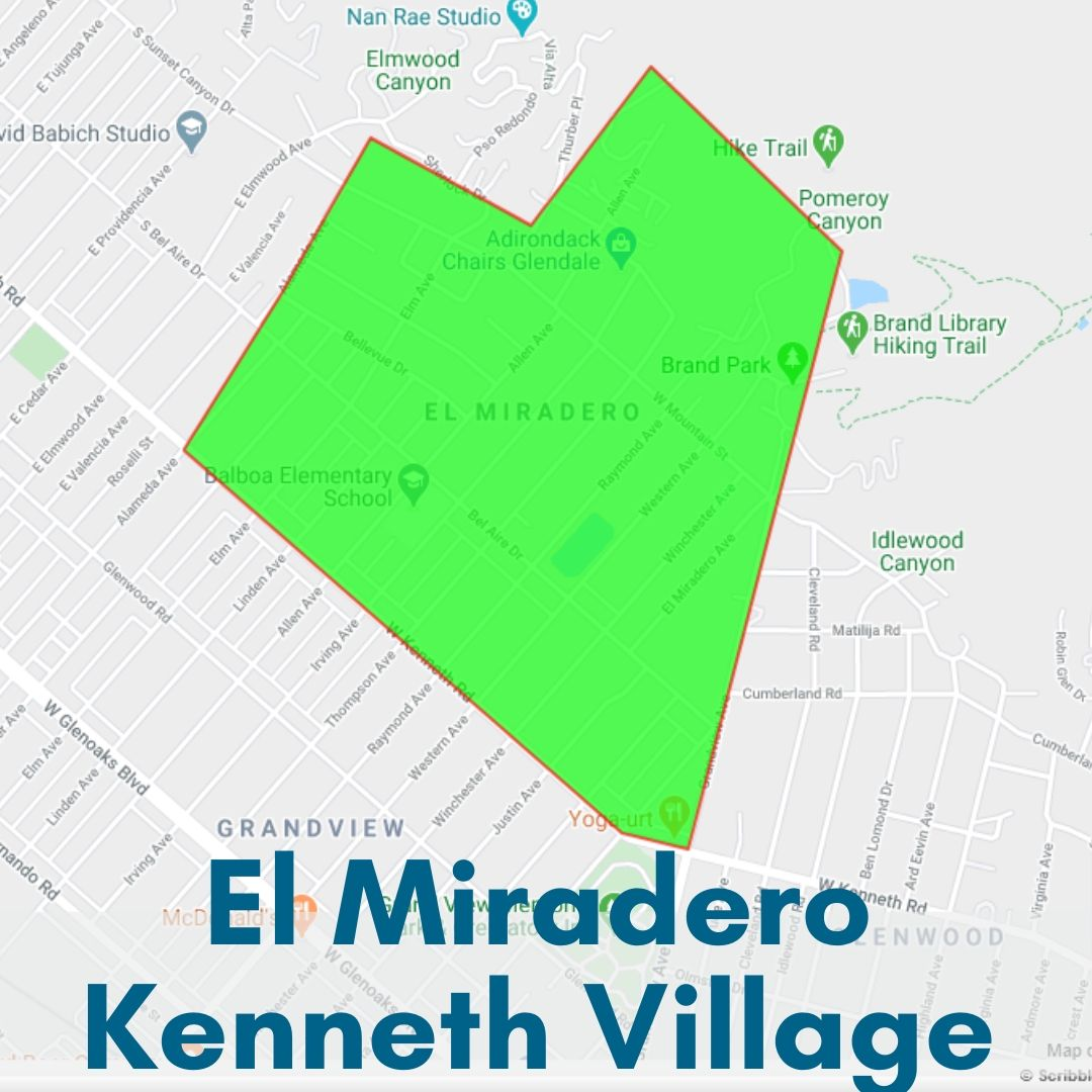 El Miradero Kenneth Vialle Neighborhood Map