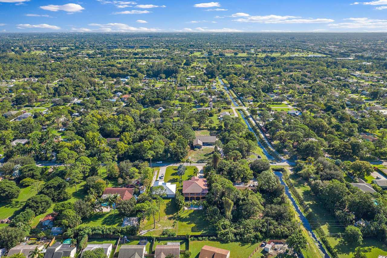 5465 3rd Rd Home for Sale in Lake Worth, FL Aerial