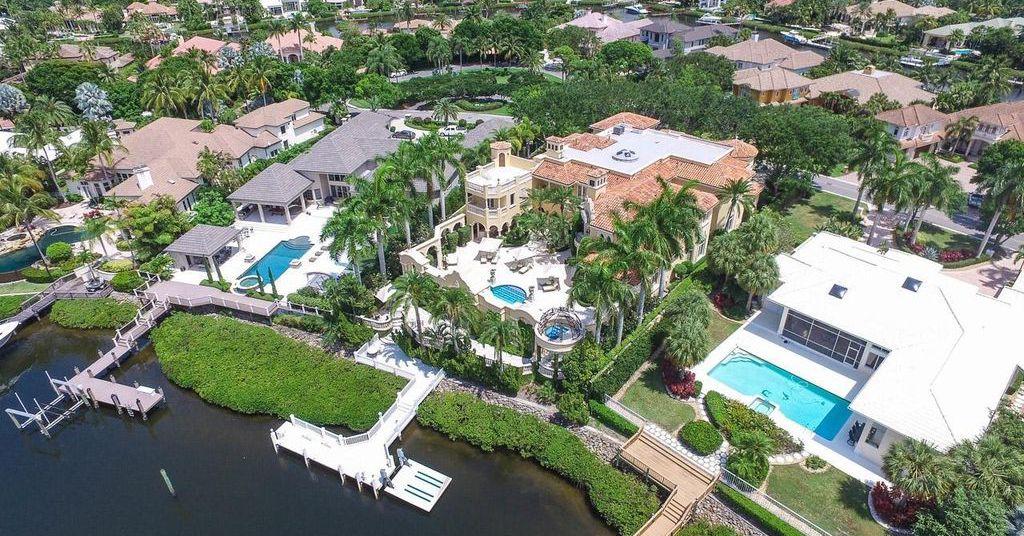 Celine Dion Waterfront Home in Jupiter Florida