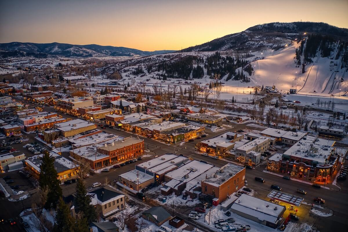 Steamboat Springs during Winter