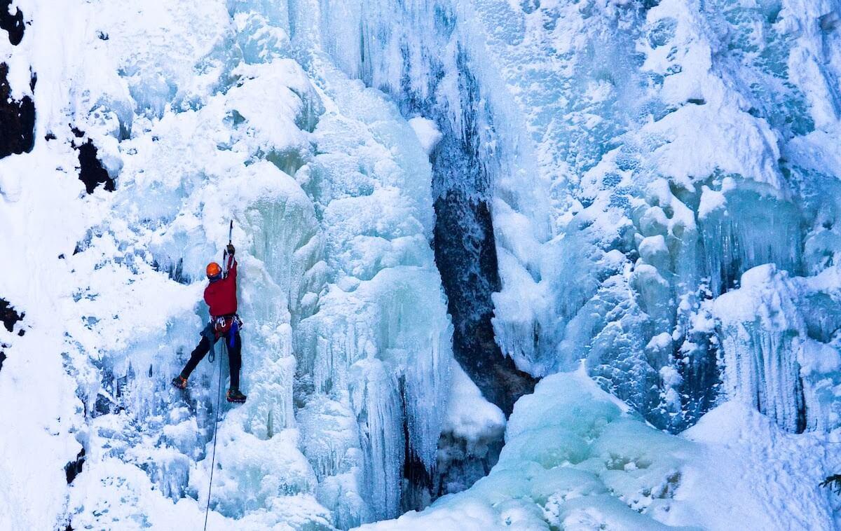 Steamboat Springs Fish Creek Falls Ice