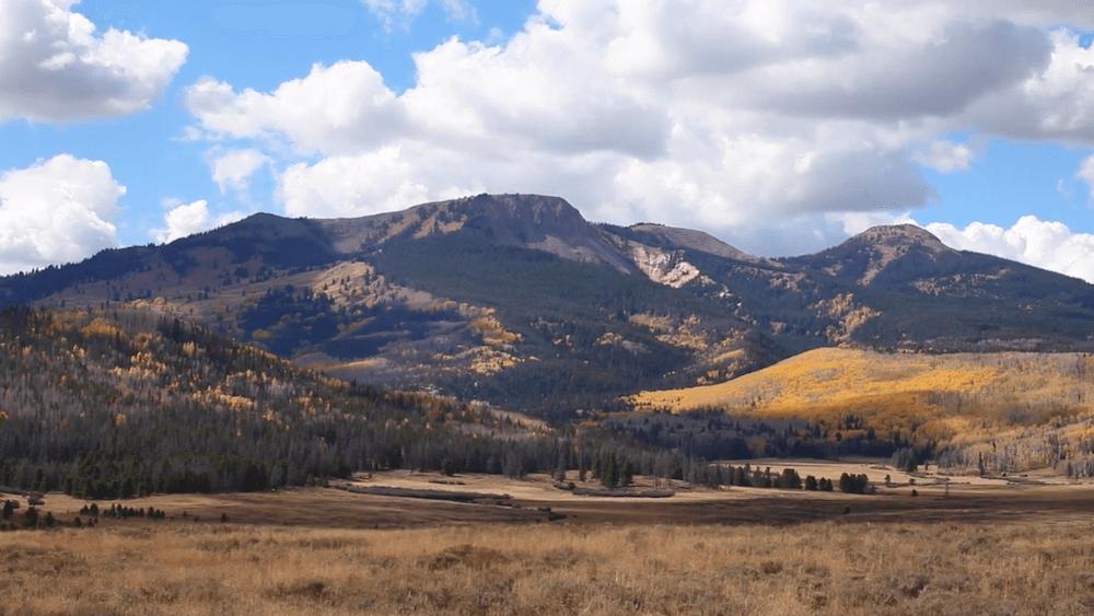 Steamboat Springs Mountain Range