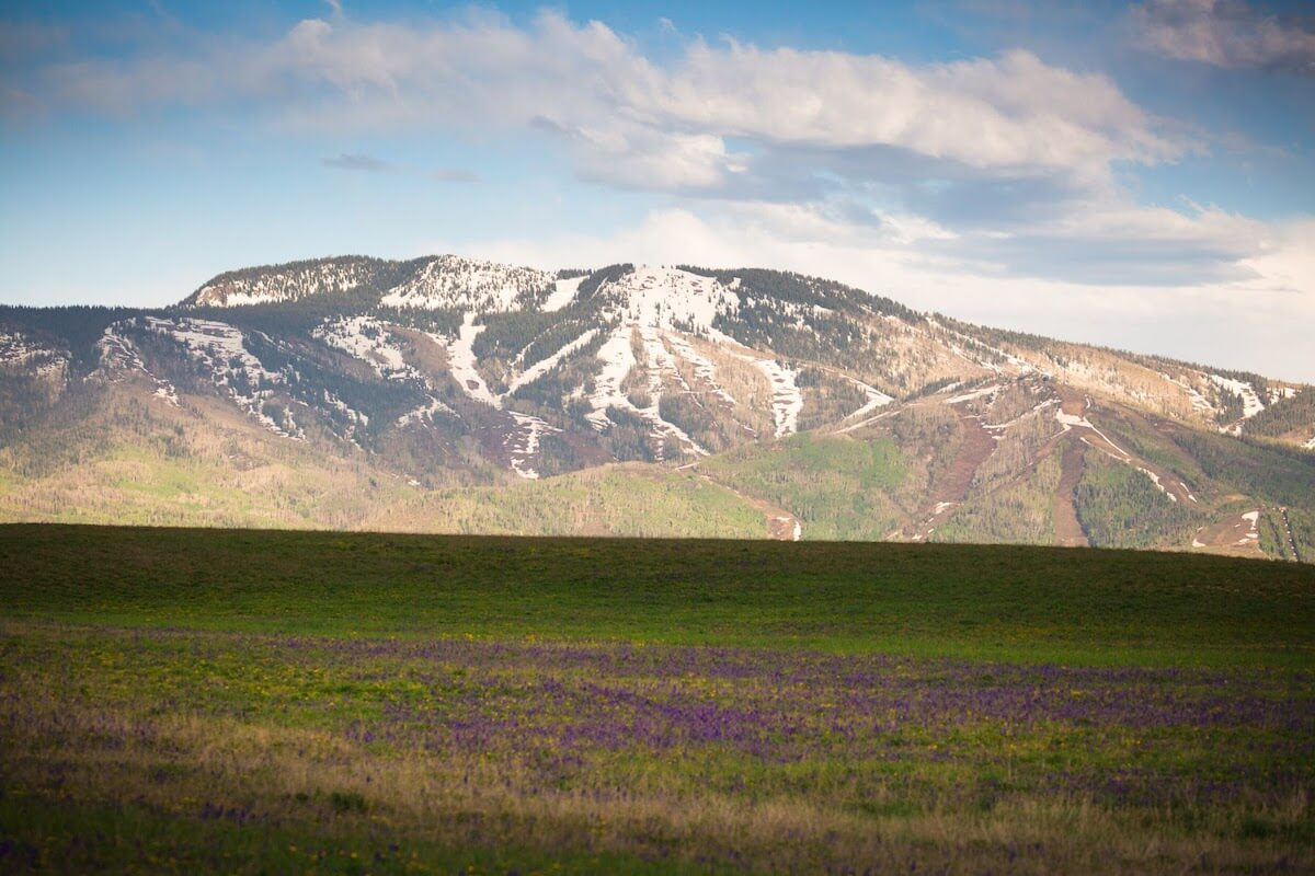 Steamboat Springs Mountain Scenery