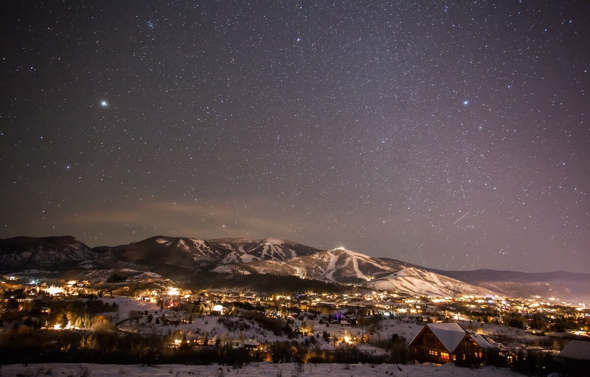 Stargazing in Steamboat Springs Colorado