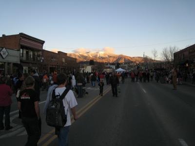 Main Street Halloween Stroll Steamboat Springs Colorado