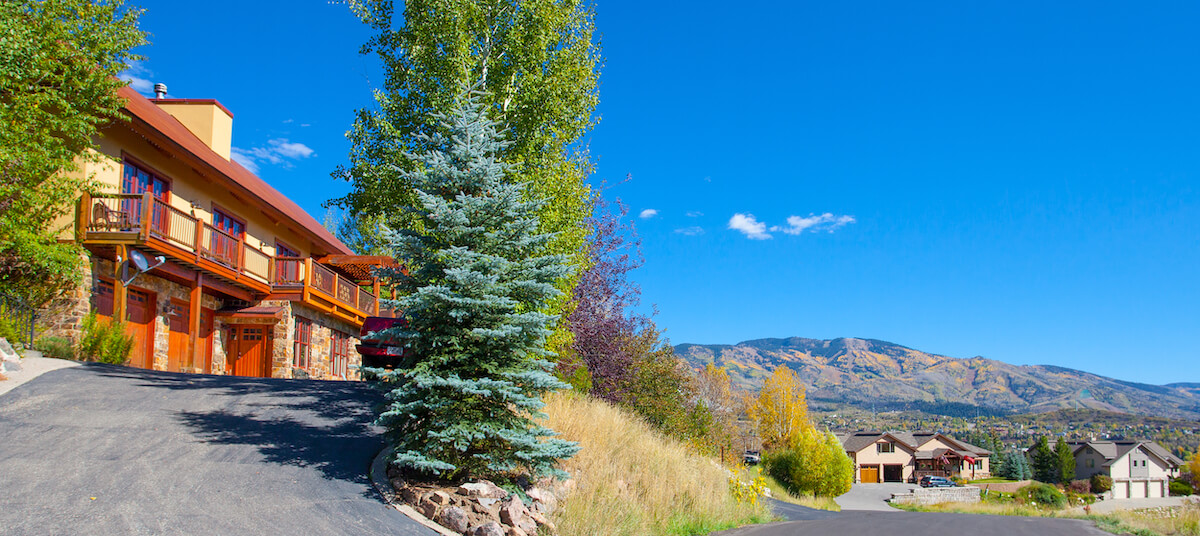 Steamboat Springs Real Estate Photography in Summer