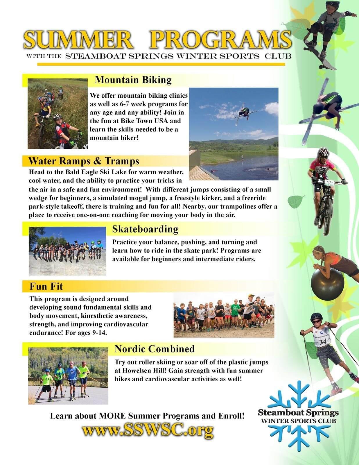 Steamboat Springs Kids Summer Programs