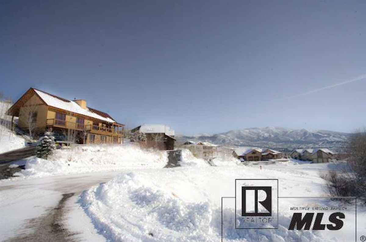 Steamboat Springs Real Estate Photography in Winter