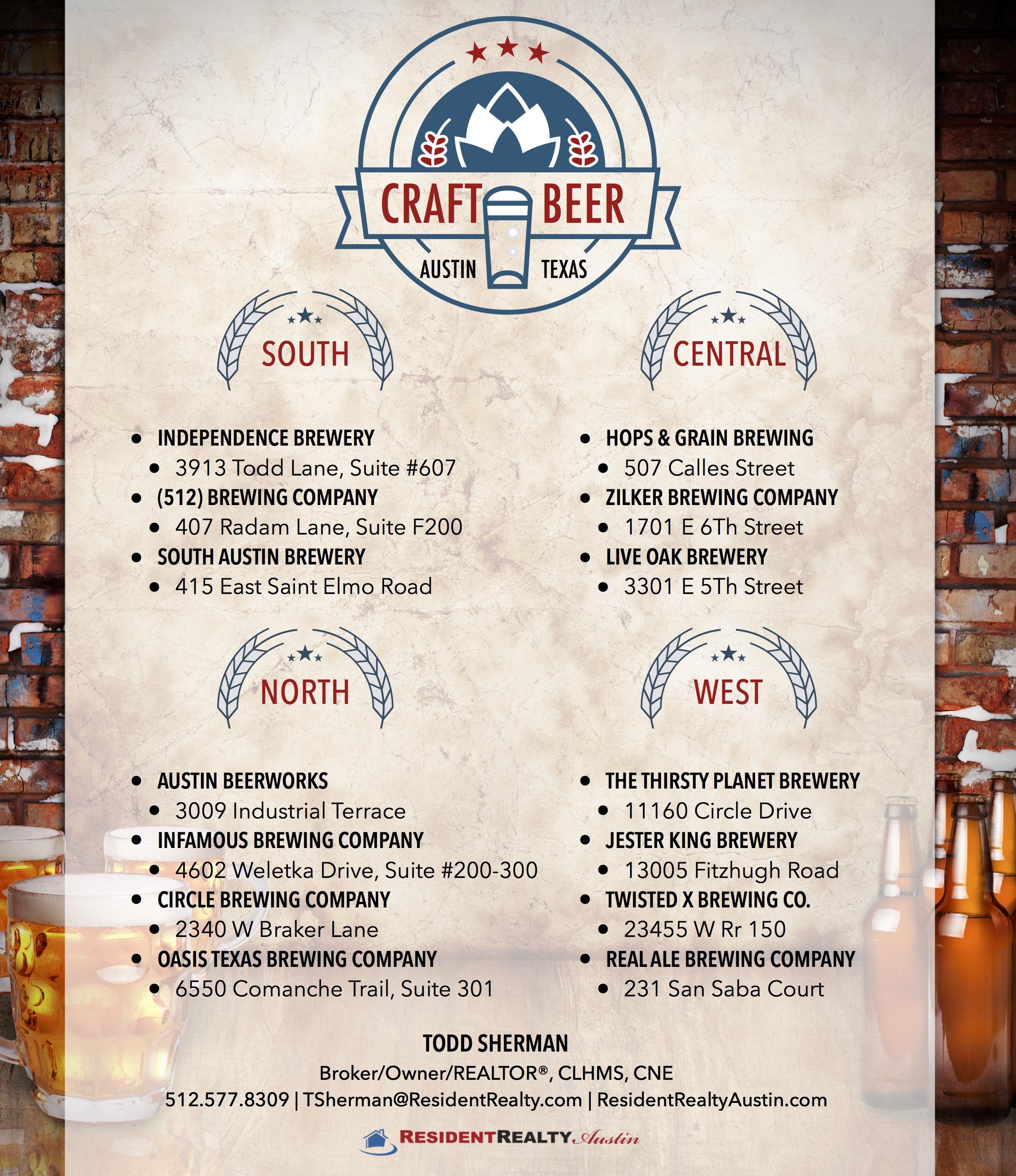 Austin's Craft Brewery Scene