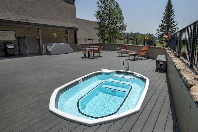 Cascade Village Condos Hot Tub in Durango Colorado