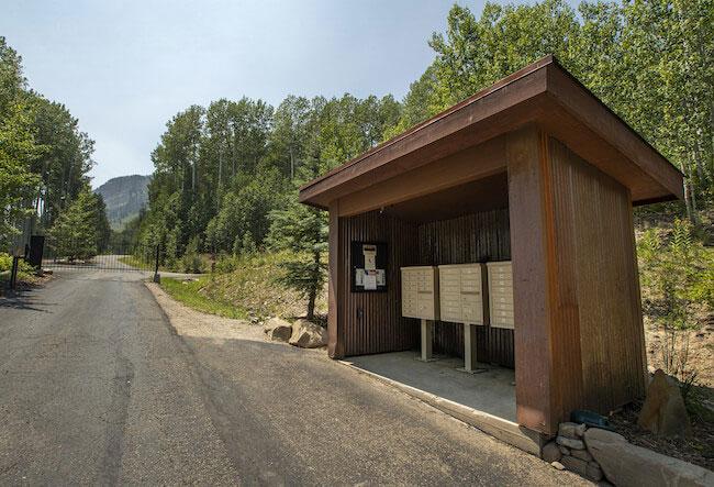 Castle Rock Community Mailboxes in Durango Colorado