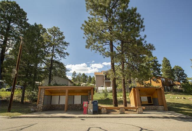 Durango West Neighborhood Mailboxes in Durango Colorado