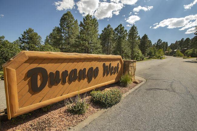 Durango West, Durango, Neighborhood Sign in Durango West 1