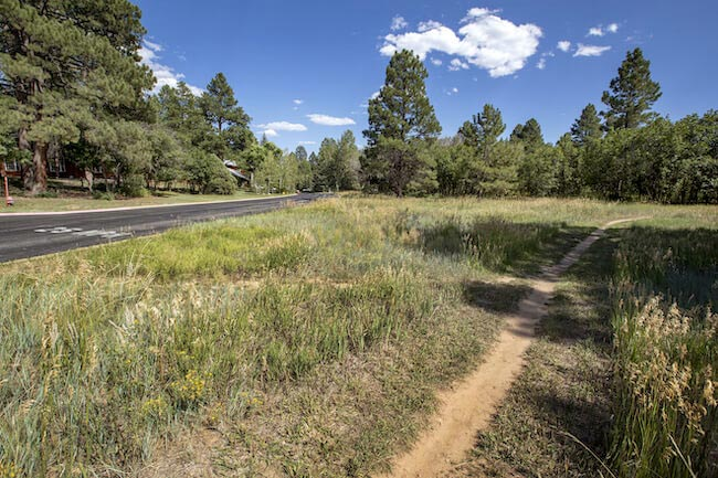 Durango West II Neighborhood Trail in Durango Colorado
