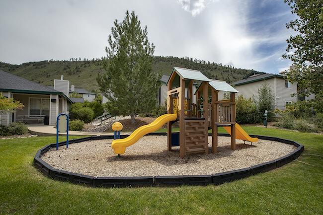 Silver Peaks Community Playground in Durango Colorado