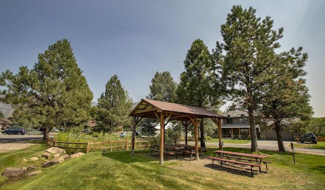 Valley Meadows Community Covered Picnic Area in Durango Colorado