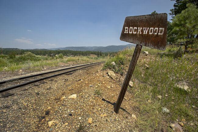Village at Rockwood Railroad Tracks in Durango Colorado