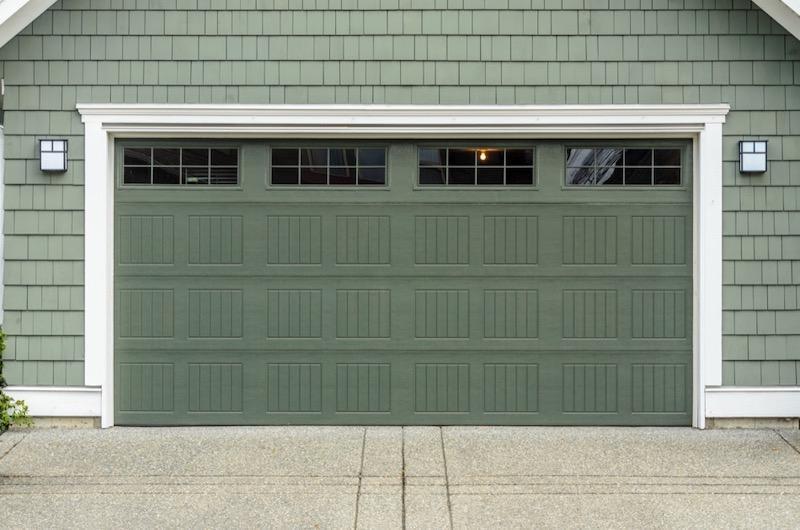 Well-Maintained Garage Door