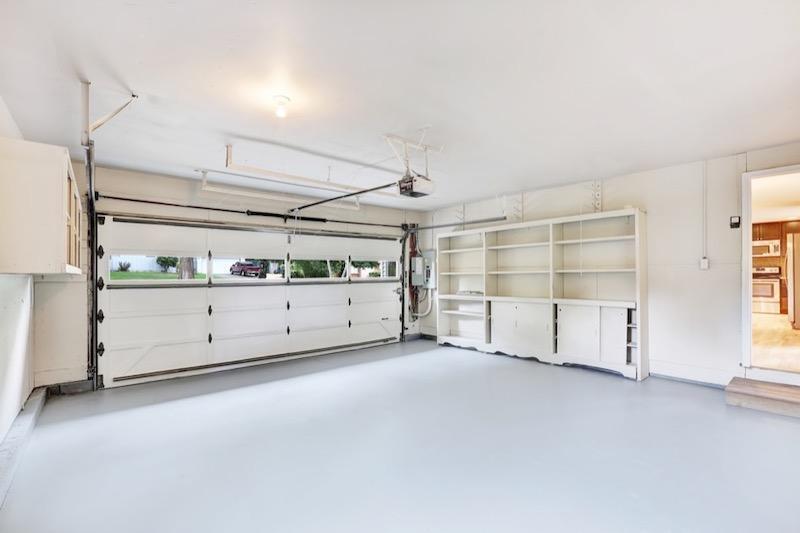 Brand New Garage Door Interior