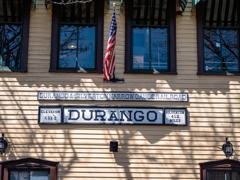 The Durango and Silverton Narrow Gauge Railroad Arrives