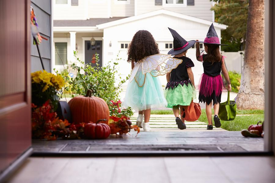 Trick or Treating in Durango