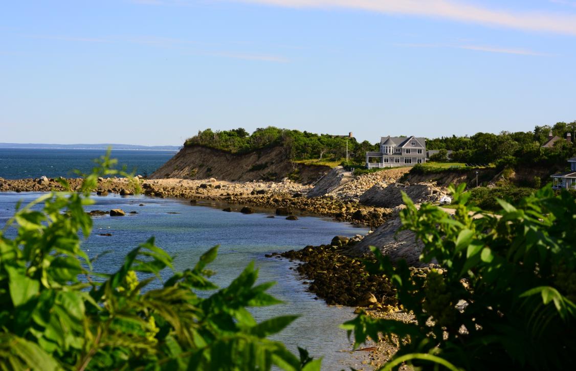 Plymouth Erosion On Coast Line