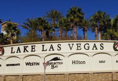 Lake Las Vegas Community Sign