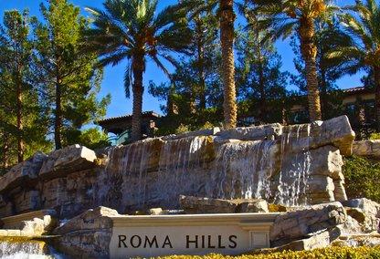 Roma Hills Waterfall