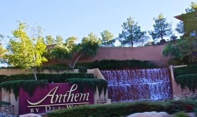 Anthem Waterfall