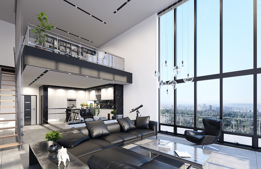 Features of a penthouse condo