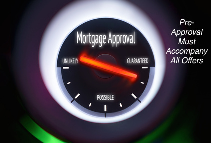 Mortgage Pre-Approval Required