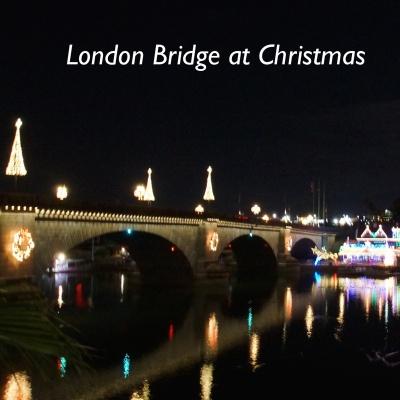 London Bridge at Christmas
