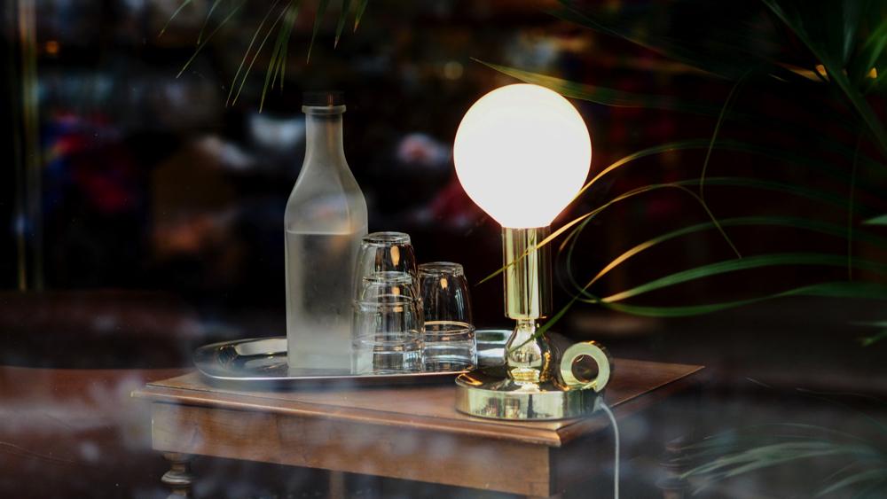 Mid century modern light