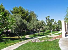 Peccole Ranch Walking Paths
