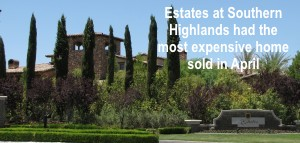 Latest sales figures for the Las Vegas Market