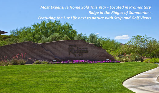 Las Vegas Luxury Homes For Sale