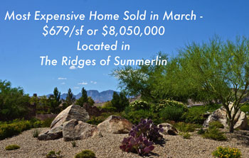 Ridges of Summerlin Luxury Golf Homes For Sale