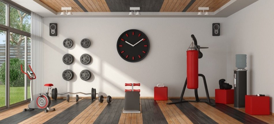 Building a home fitness center doesn't have to be a dream. It may be easier than you think!