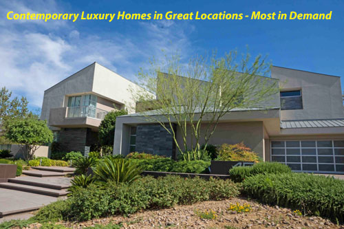 The Ridges of Summerlin Contemporary Luxury Homes