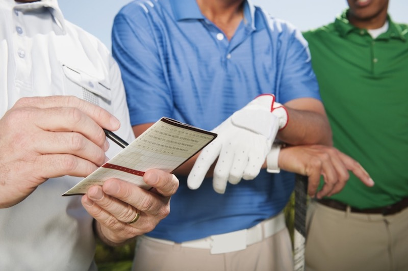 Keeping Score in Golf
