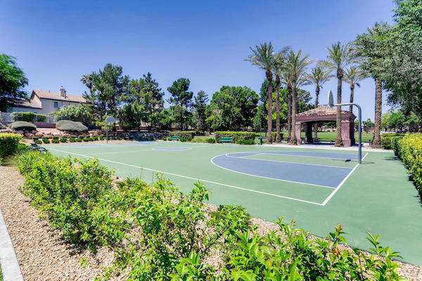 Basketball Courts in Green Valley Ranch