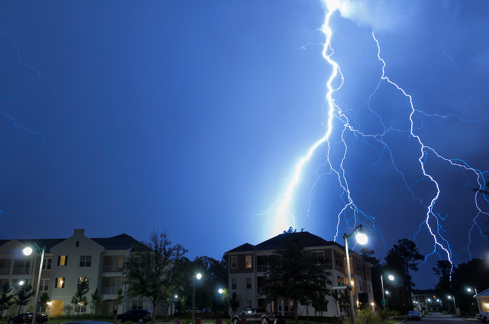 The Threat of Lightning Indoors