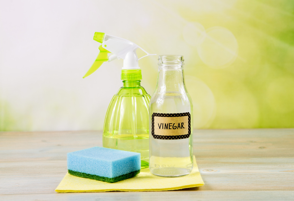 Cleaning Home With Vinegar