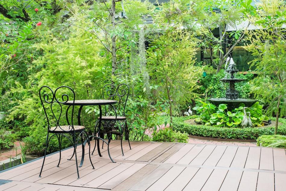 Renovated Backyard